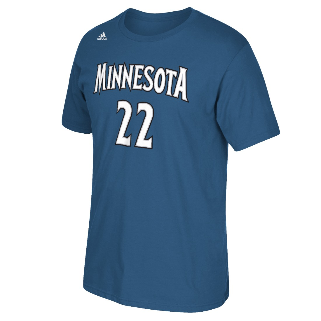 Andrew Wiggins Minnesota Timberwolves Men's NBA Adidas Player Blue T-Shirt