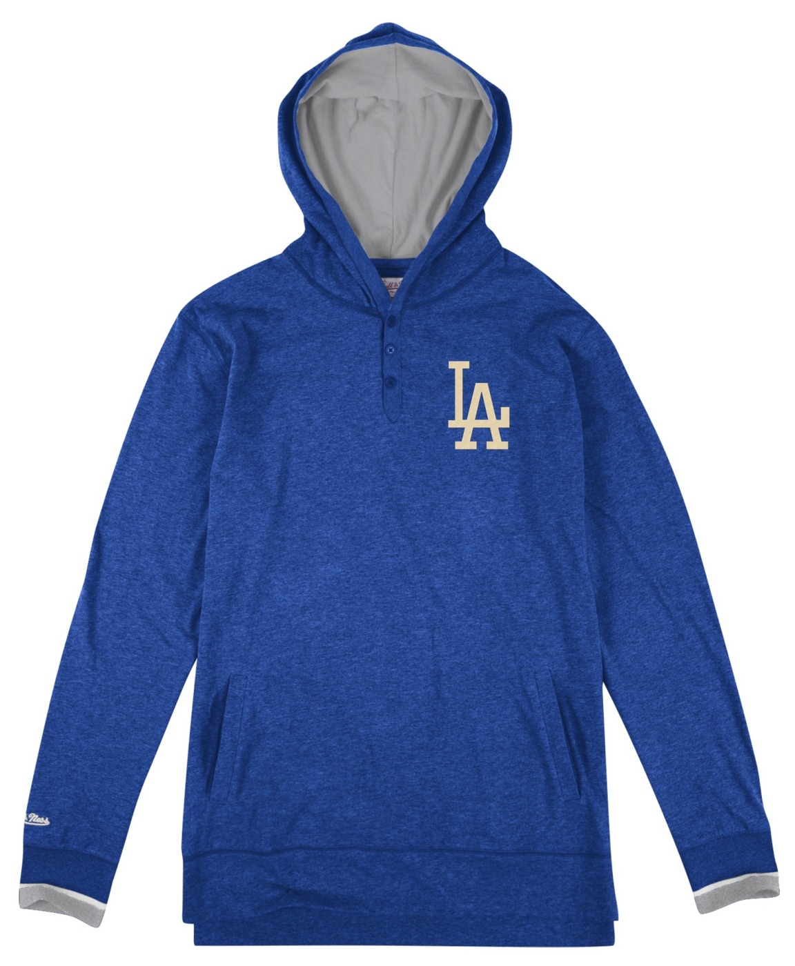 "Los Angeles Dodgers Mitchell & Ness MLB ""Seal The Win"" L/S Hooded Men's Shirt"