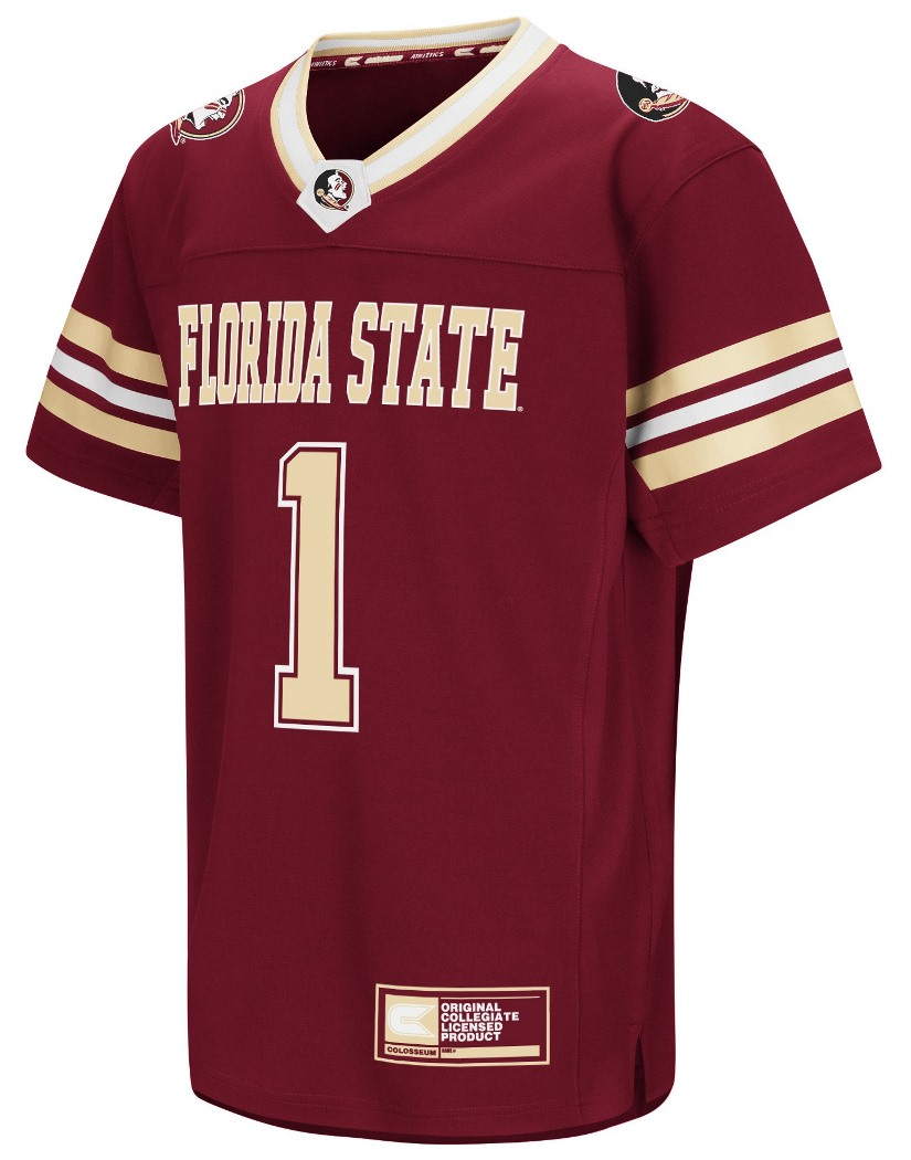 "Florida State Seminoles NCAA ""Hail Mary Pass"" Youth Football Jersey"