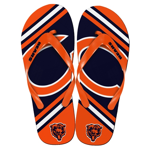 Chicago Bears NFL 2013 Unisex Big Logo Flip Flops