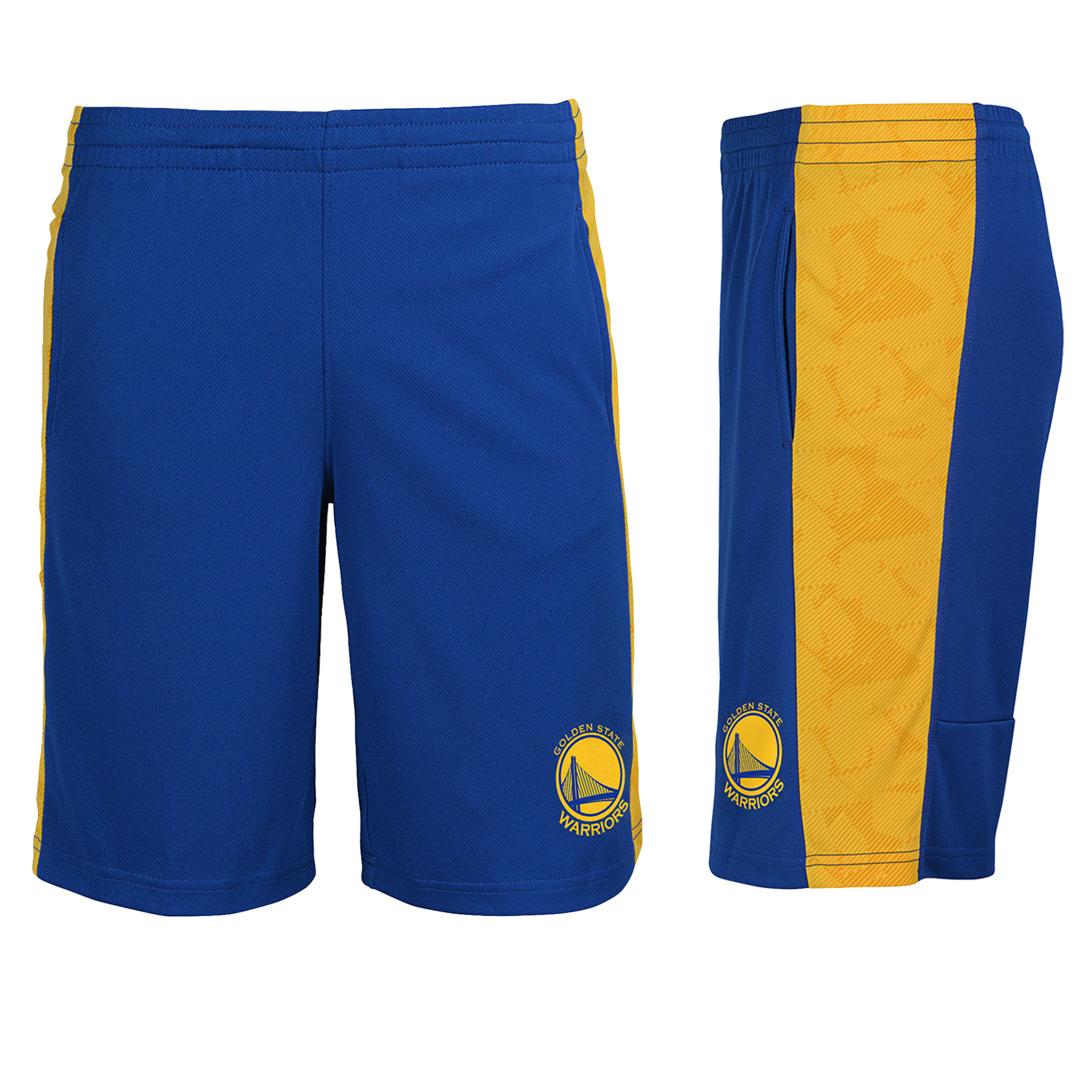 "Golden State Warriors Youth NBA ""Shoot & Score"" Performance Mesh Shorts"
