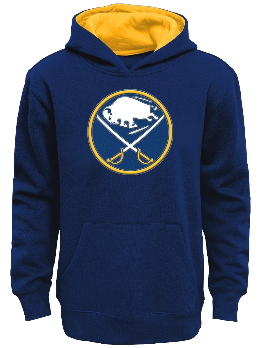 "Buffalo Sabres Youth NHL ""Prime Logo"" Pullover Hooded Sweatshirt"