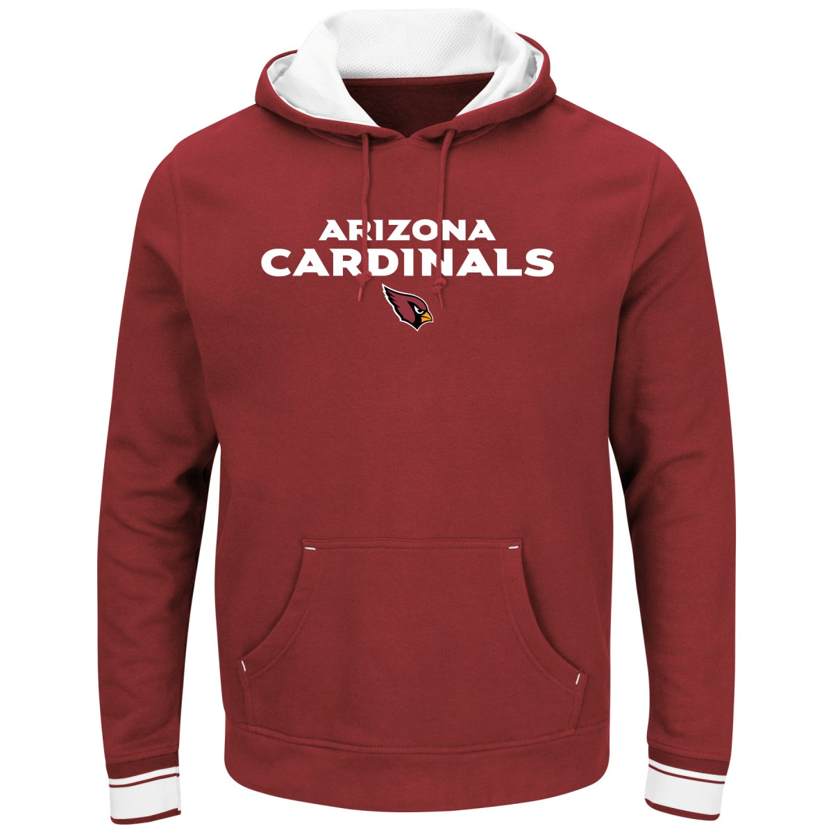 "Arizona Cardinals Majestic NFL ""Championship"" Men's Pullover Hooded Sweatshirt"