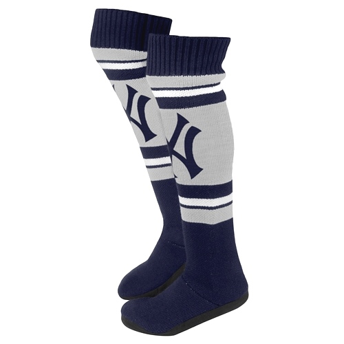 New York Yankees Women's MLB Knit Knee High Slippers