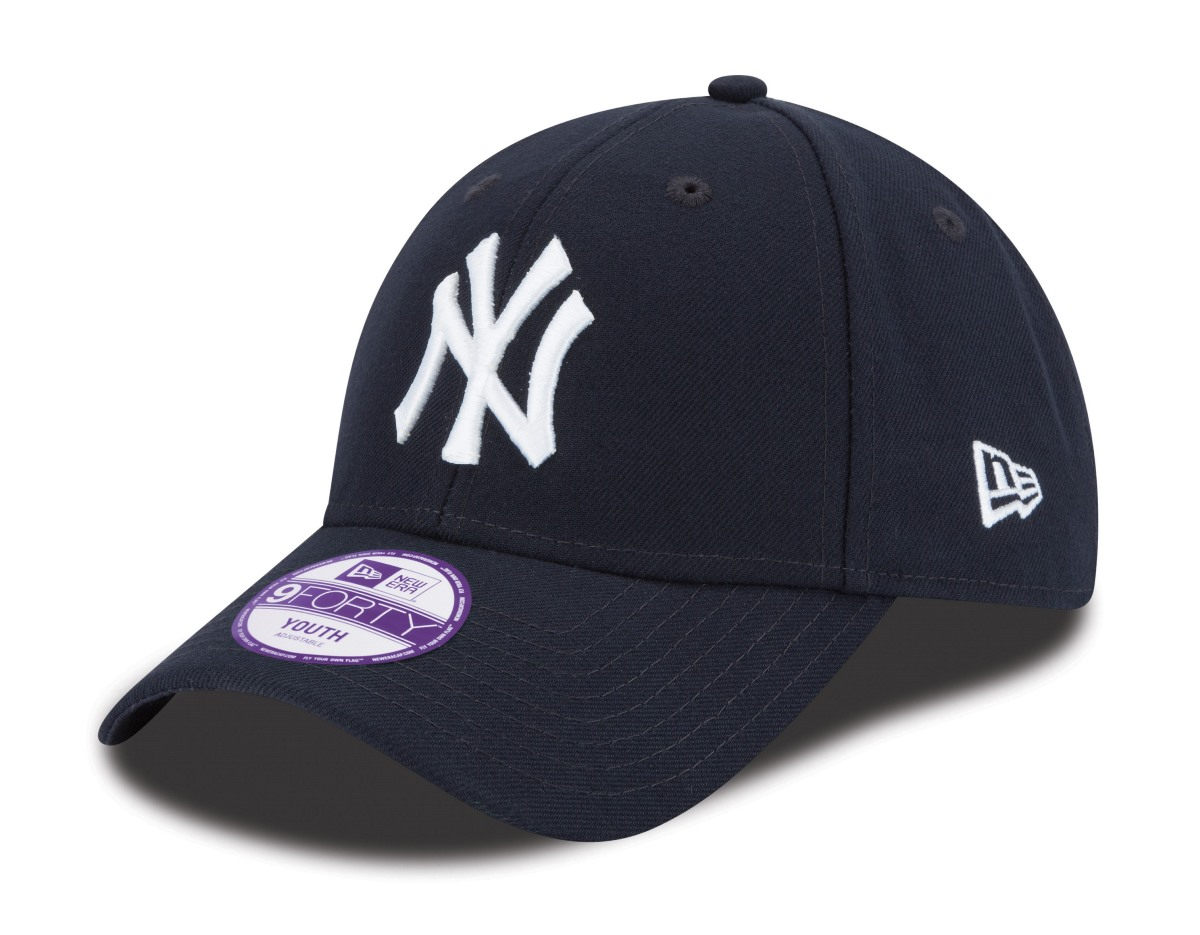 "New York Yankees New Era Youth MLB 9Forty ""The League"" Adjustable Hat"
