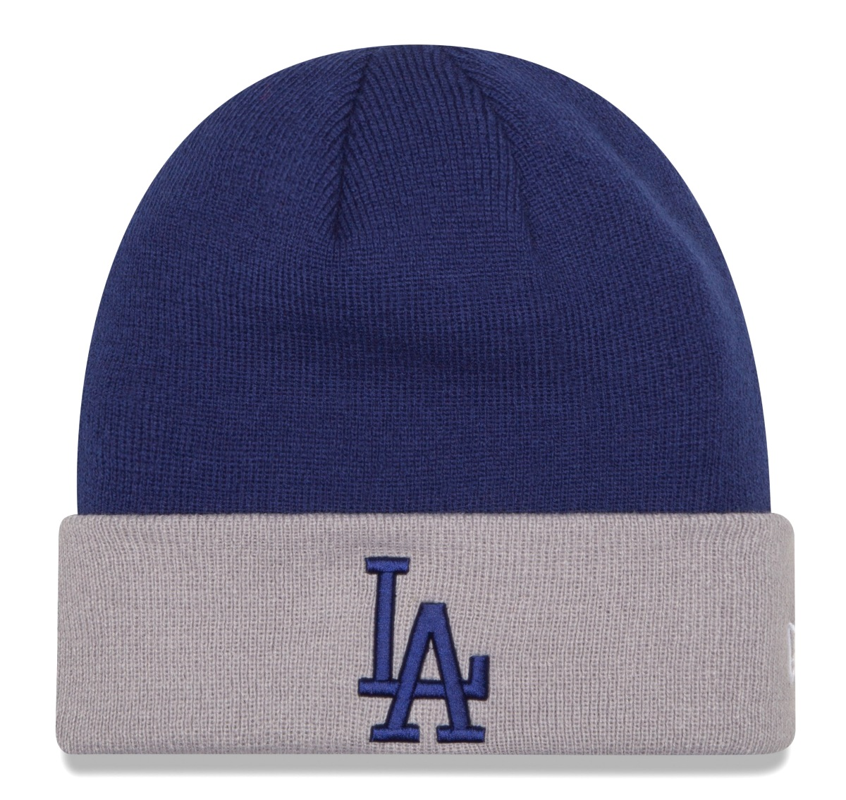 "Los Angeles Dodgers New Era MLB ""Basic Logo"" Cuffed Knit Hat"