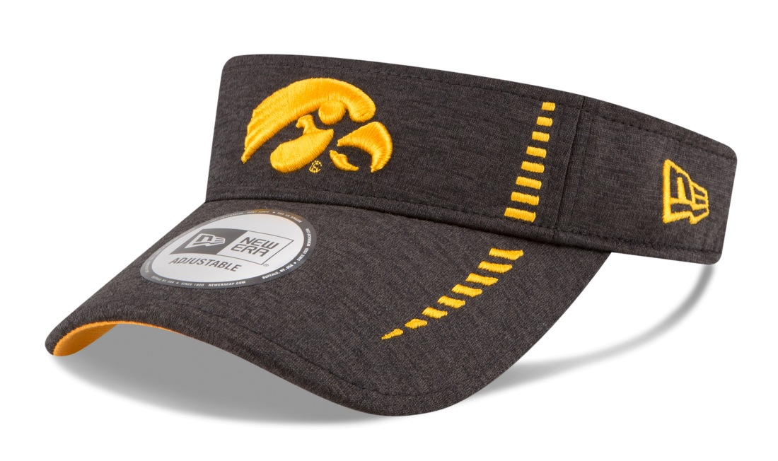 "Iowa Hawkeyes New Era NCAA ""Shadow Speed"" Performance Adjustable Visor"