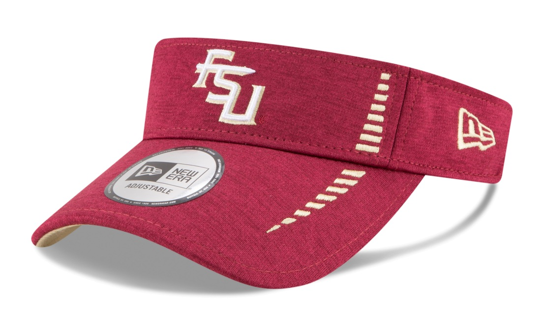 "Florida State Seminoles New Era NCAA ""Shadow Speed"" Performance Adjustable Visor"