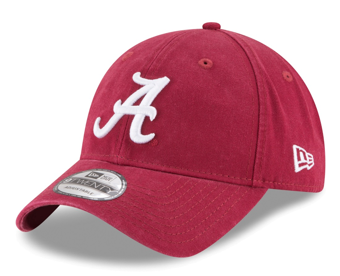 "Alabama Crimson Tide New Era 9Twenty NCAA ""Twill Core Classic"" Adjustable Hat"