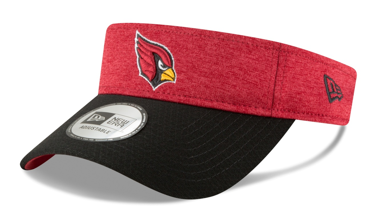 Arizona Cardinals New Era NFL 2018 Official Sideline Performance Visor