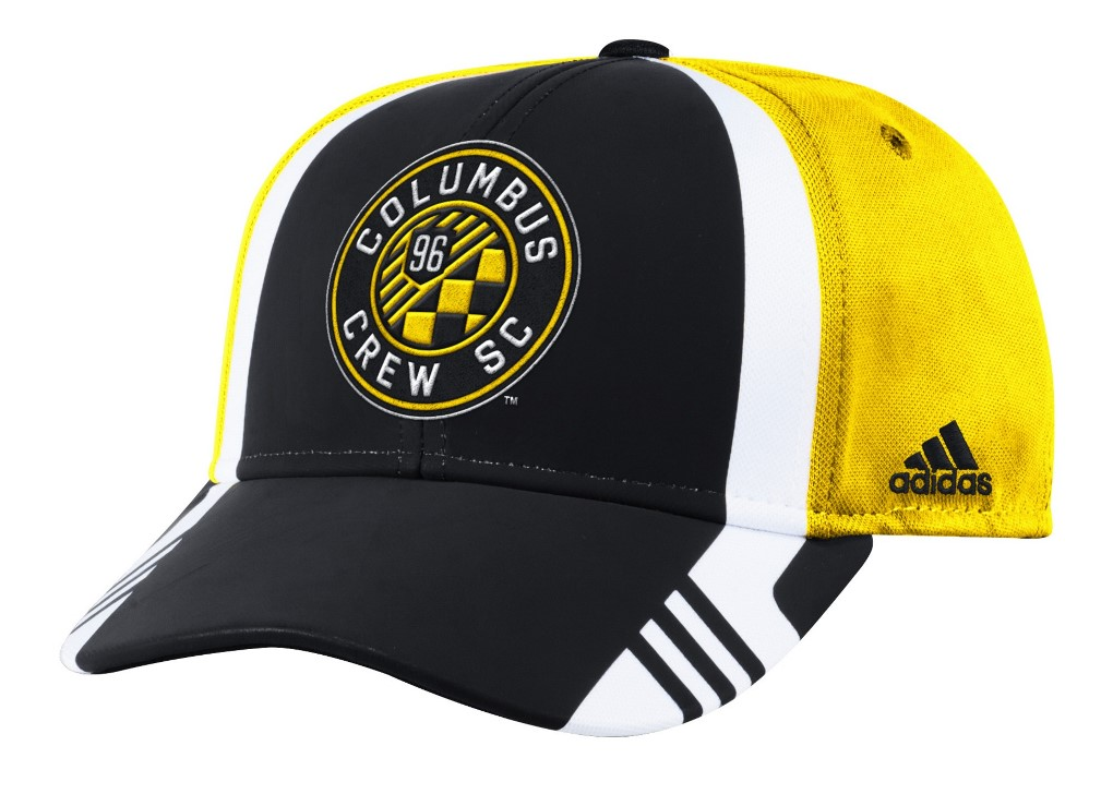 Columbus Crew Adidas MLS 2017 Authentic Team Structured Adjustable Hat