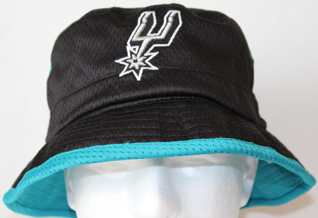 "San Antonio Spurs Mitchell & Ness NBA ""Then & Now"" Bucket Hat"