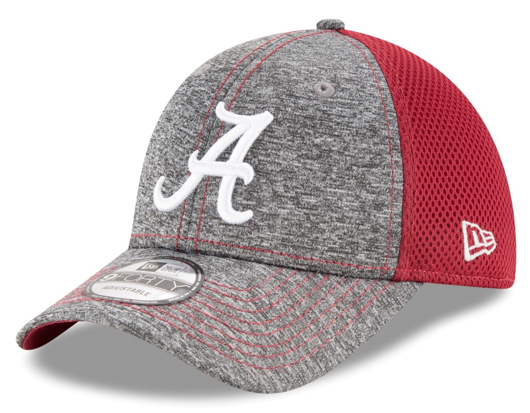 "Alabama Crimson Tide New Era 9Forty NCAA ""Shadow Turn"" Adjustable Hat"