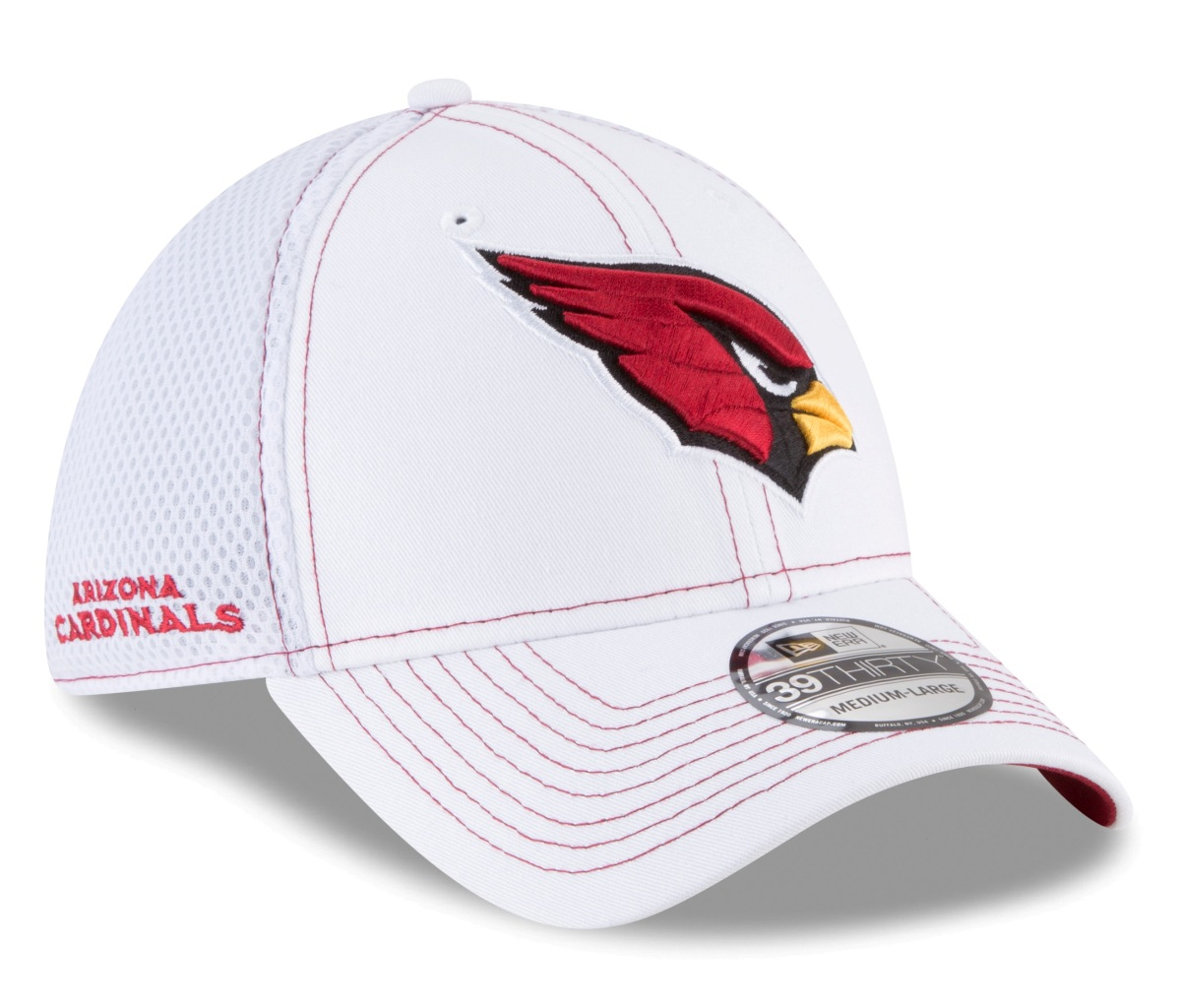 "Arizona Cardinals New Era NFL 39THIRTY ""Team Turn Neo"" Flex Fit Hat"