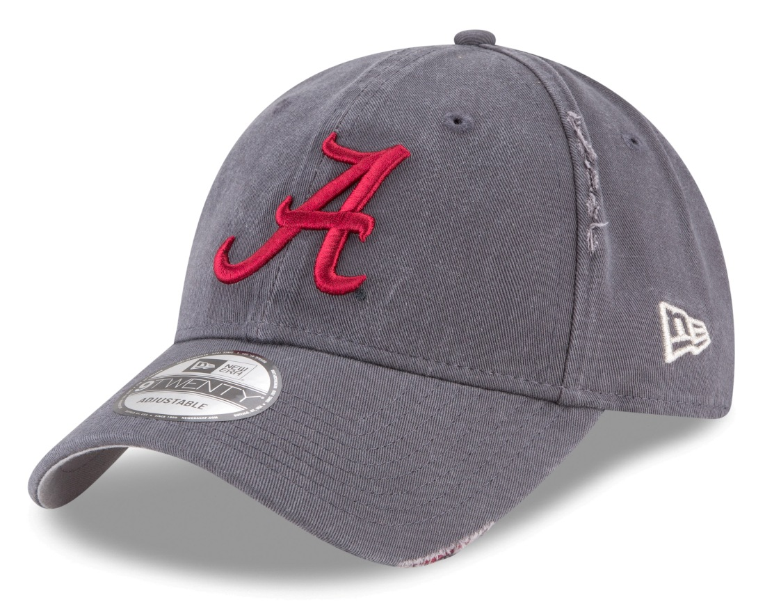 "Alabama Crimson Tide New Era 9Twenty NCAA ""Rip Right"" Adjustable Hat"