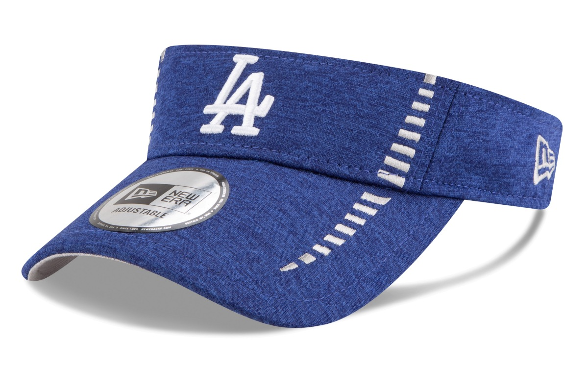 "Los Angeles Dodgers New Era MLB ""Shadow Speed"" Performance Adjustable Visor"