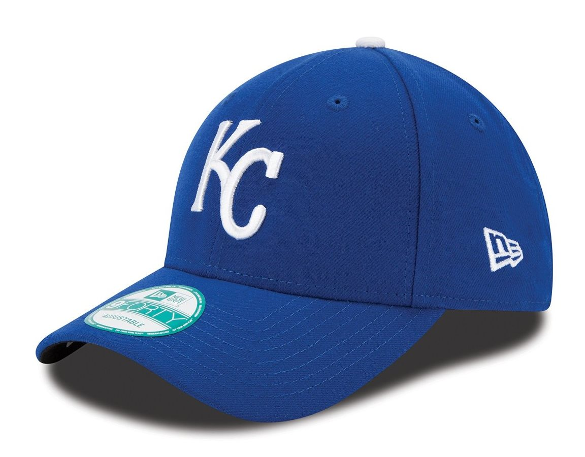 "Kansas City Royals New Era Youth MLB 9Forty ""The League"" Adjustable Hat"