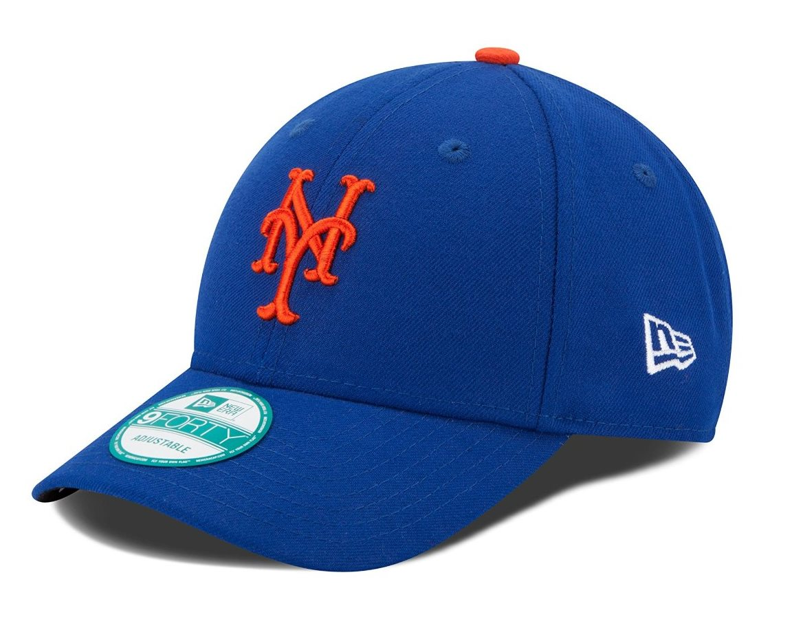 "New York Mets New Era Youth MLB 9Forty ""The League"" Adjustable Hat"