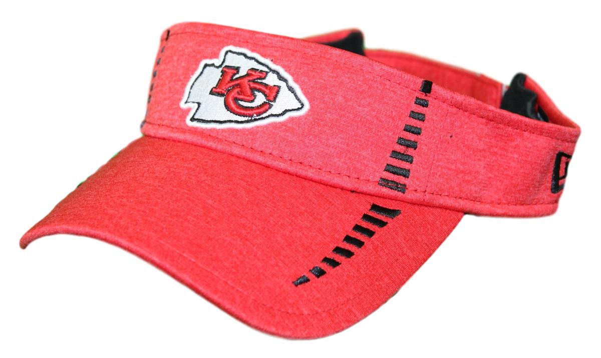 "Kansas City Chiefs New Era NFL ""Shadow Speed"" Performance Adjustable Visor"