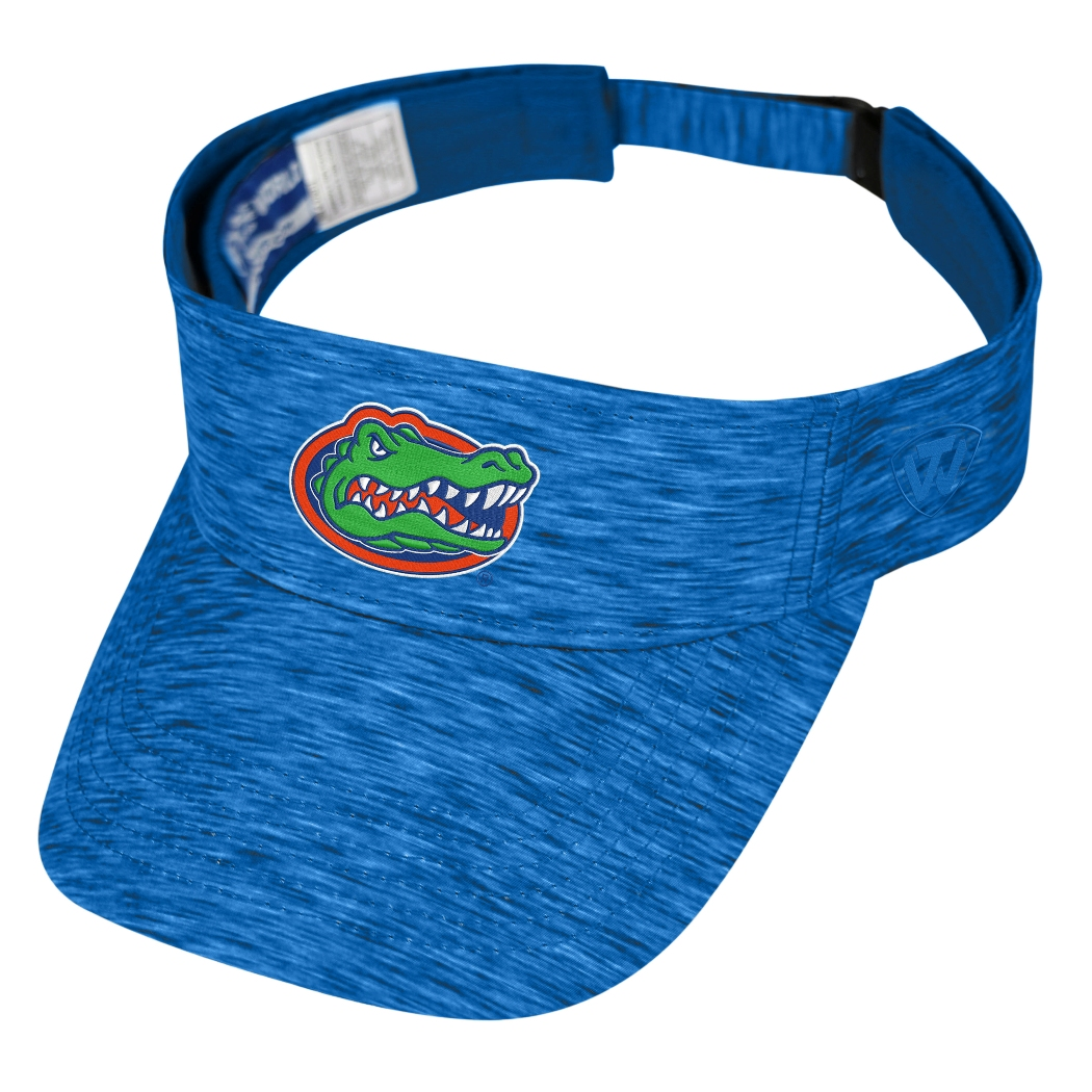 "Florida Gators NCAA Top of the World ""Energy"" Adjustable Visor"