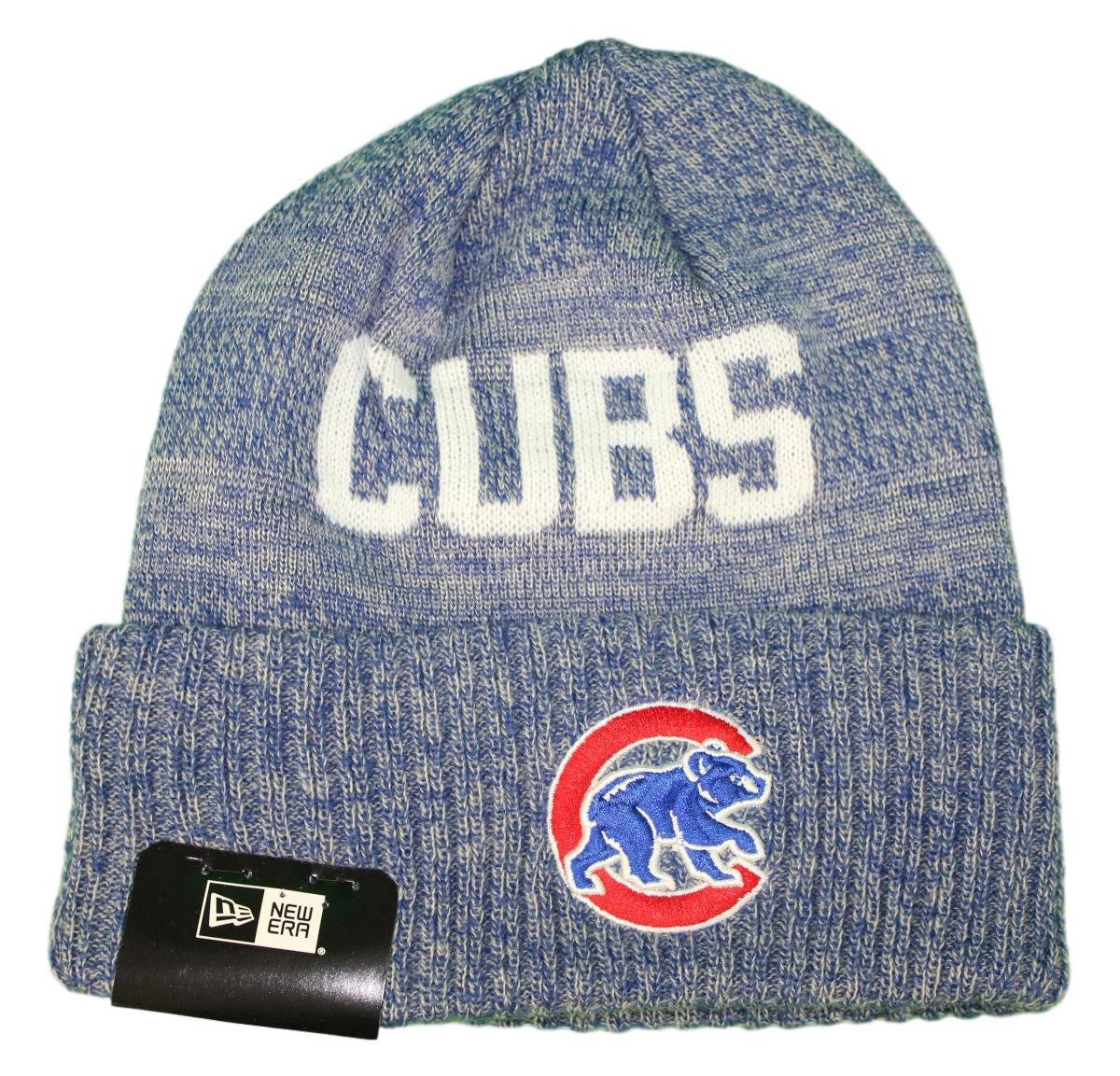 "Chicago Cubs New Era MLB ""Crisp Colored"" Cuffed Knit Hat - Bear Logo"