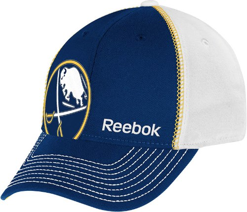 "Buffalo Sabres NHL Reebok 2013 ""Off Center"" Structured Flex Hat"