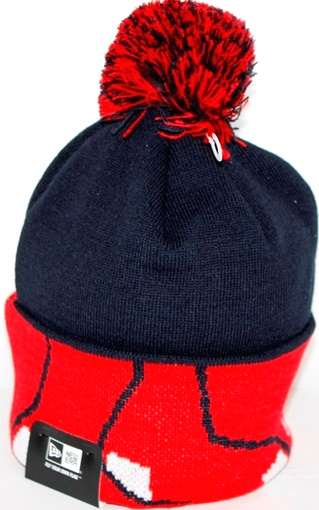 Boston Red Sox New Era MLB Major Cuff Knit Hat
