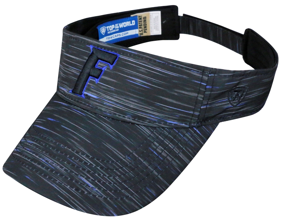 "Florida Gators NCAA Top of the World ""Obsidian"" Adjustable Visor"