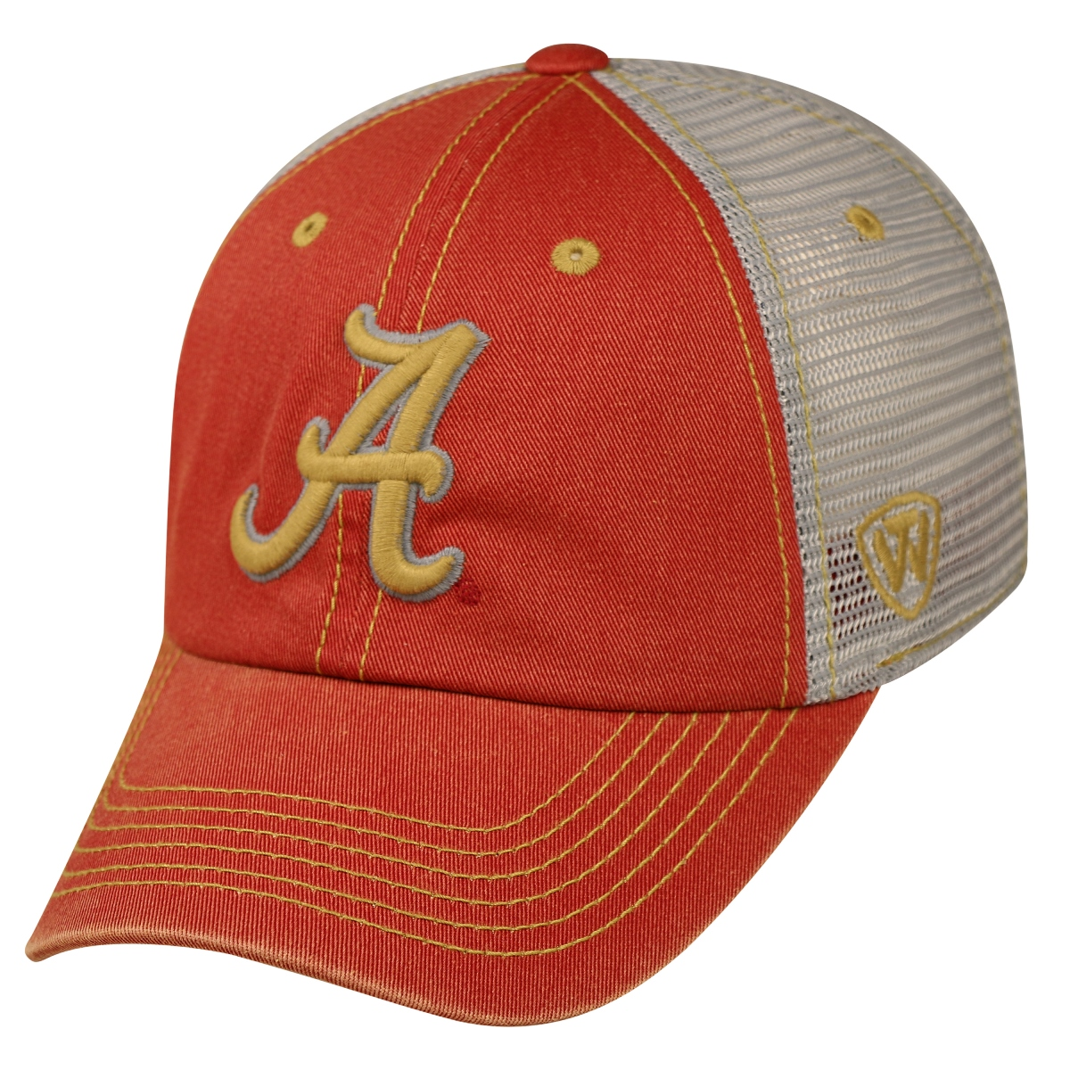 "Alabama Crimson Tide NCAA Top of the World ""Past"" Adjustable Mesh Back Hat"