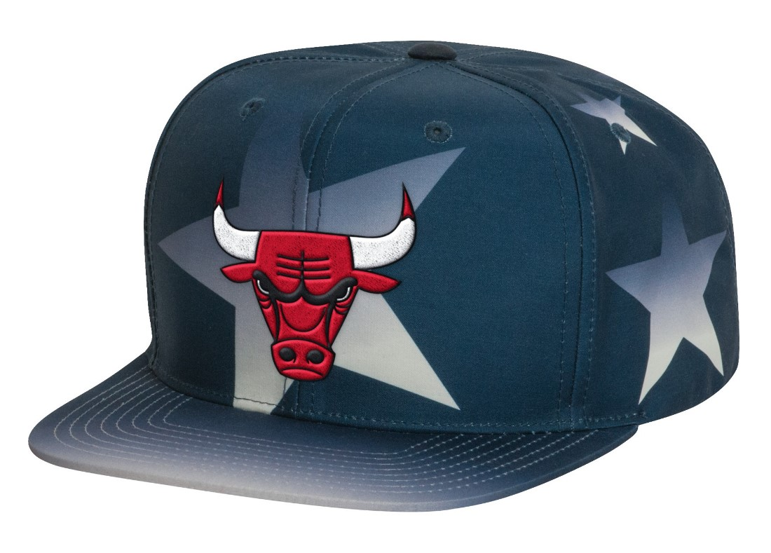 "Chicago Bulls Mitchell & Ness NBA ""Award Ceremony"" Snap Back Hat"