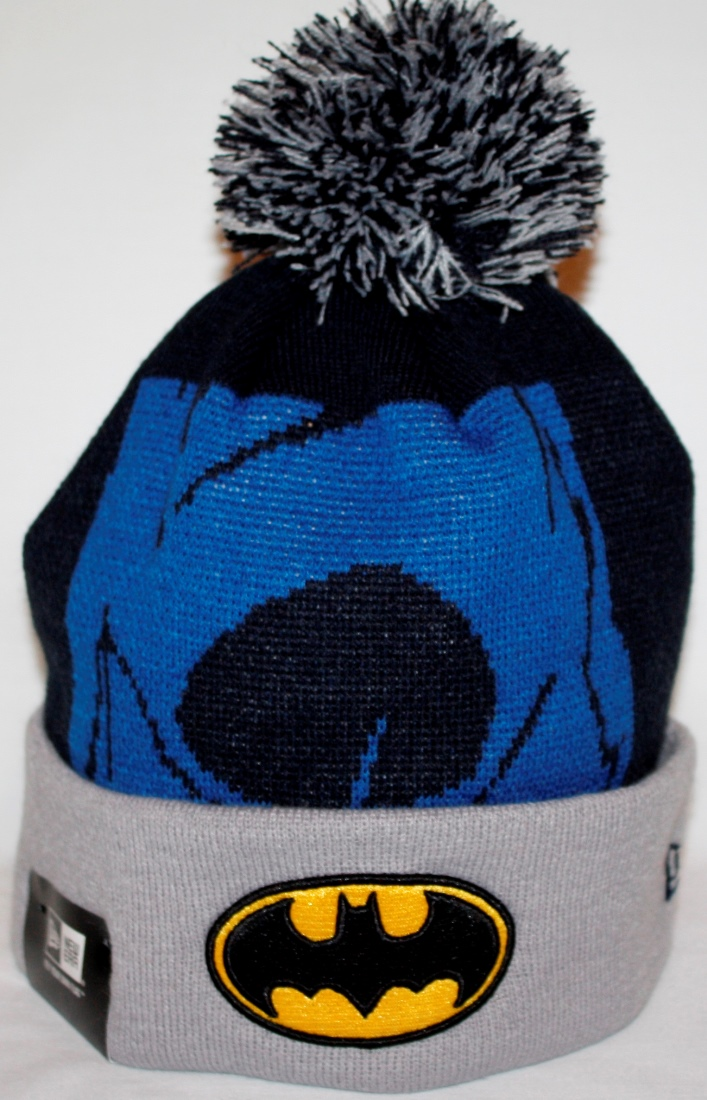 Batman New Era Woven Biggie 2 Cuffed Knit Hat