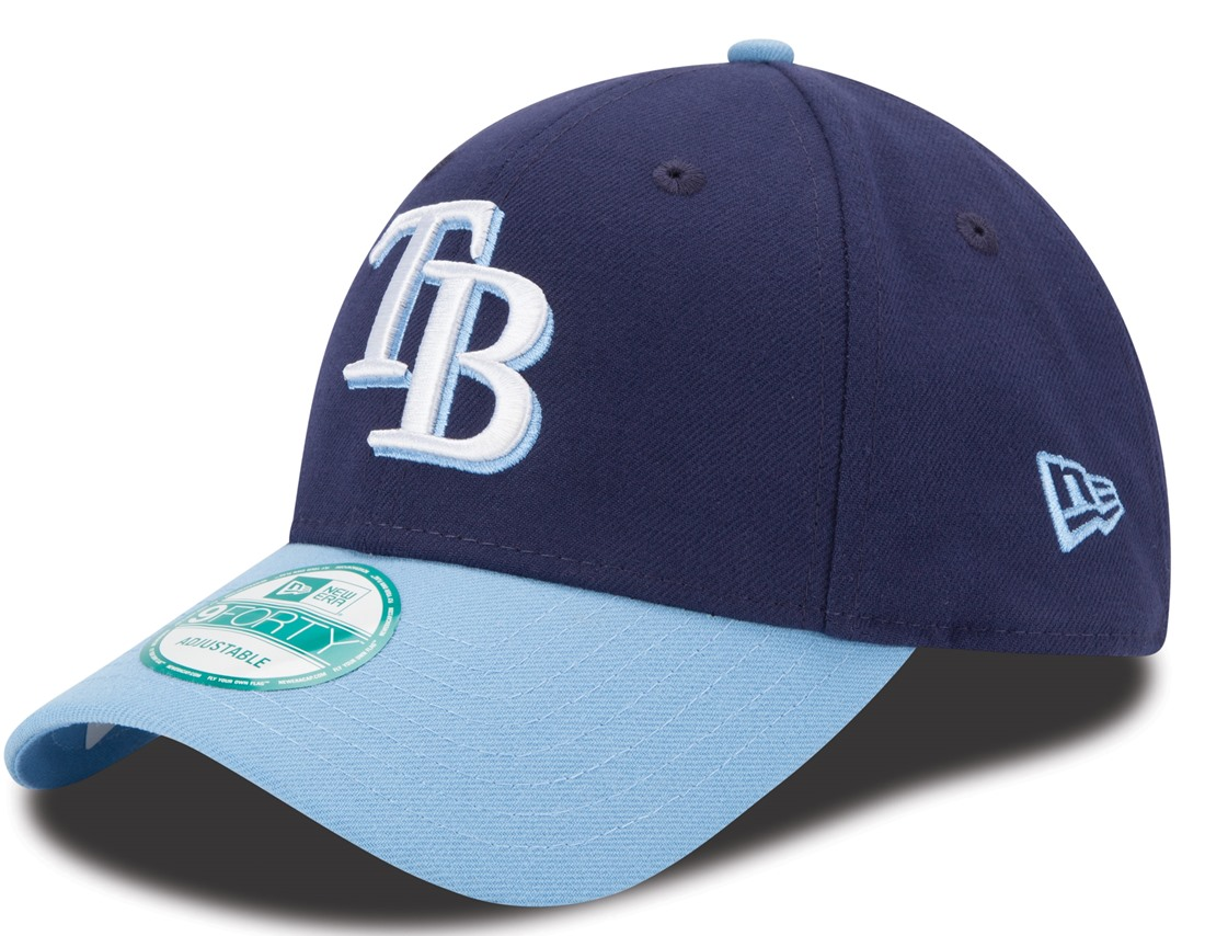 "Tampa Bay Rays New Era MLB 9Forty ""The League"" Adjustable Hat - 2 Tone"