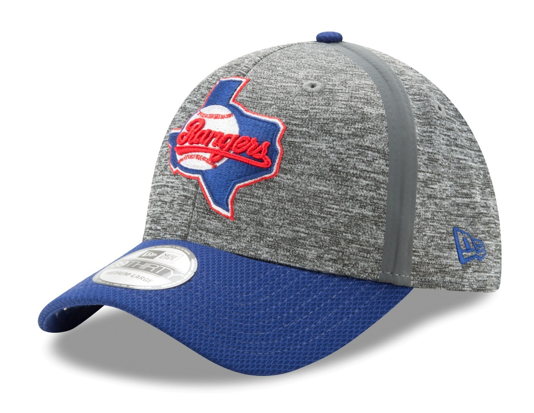 "Texas Rangers New Era MLB 39THIRTY ""Clubhouse Edition"" Flex Fit Hat"