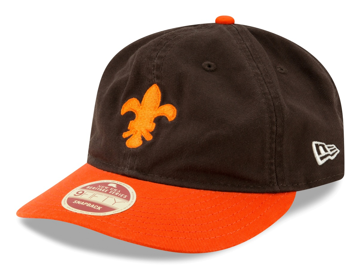 "St. Louis Browns New Era MLB 9Fifty Cooperstown ""2 Toned Retro"" Snap Back Hat"