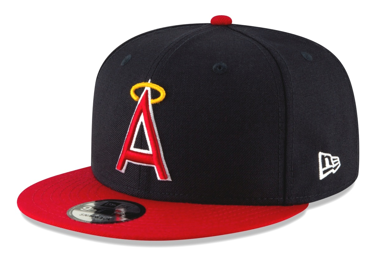 "California Angels New Era 9FIFTY MLB Cooperstown ""Logo Pack"" Snapback Hat"