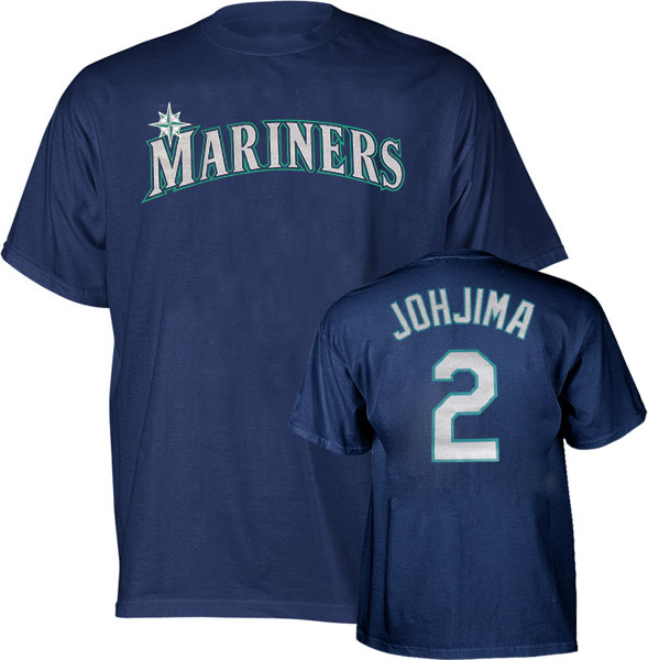 Kenji Johjima Mariners Youth MLB Player T-Shirt