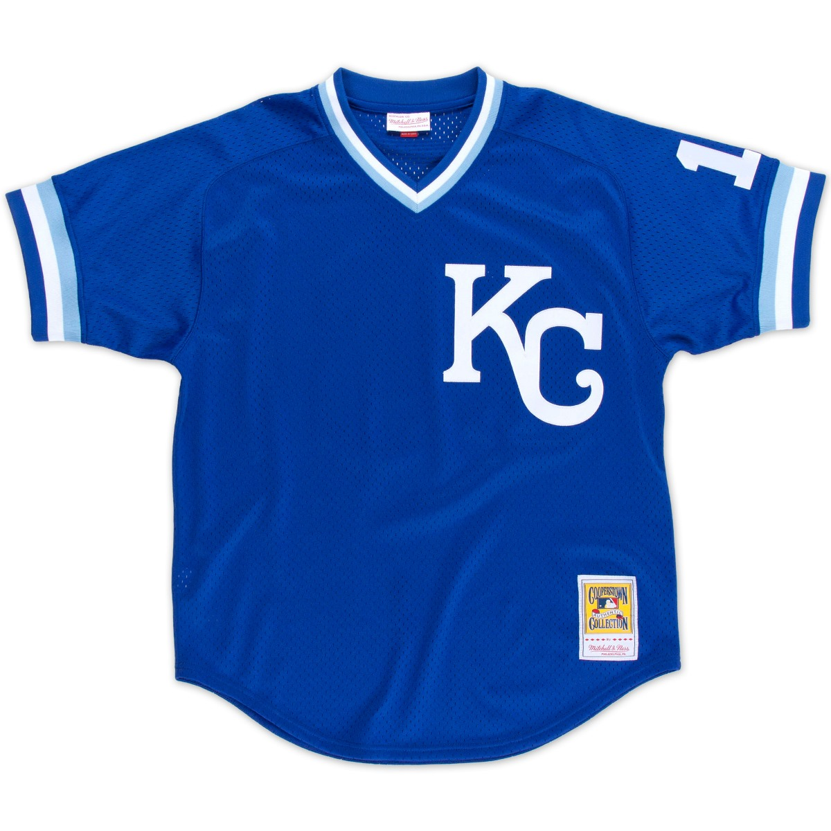 Bo Jackson Kansas City Royals Mitchell & Ness Authentic 1989 BP Jersey