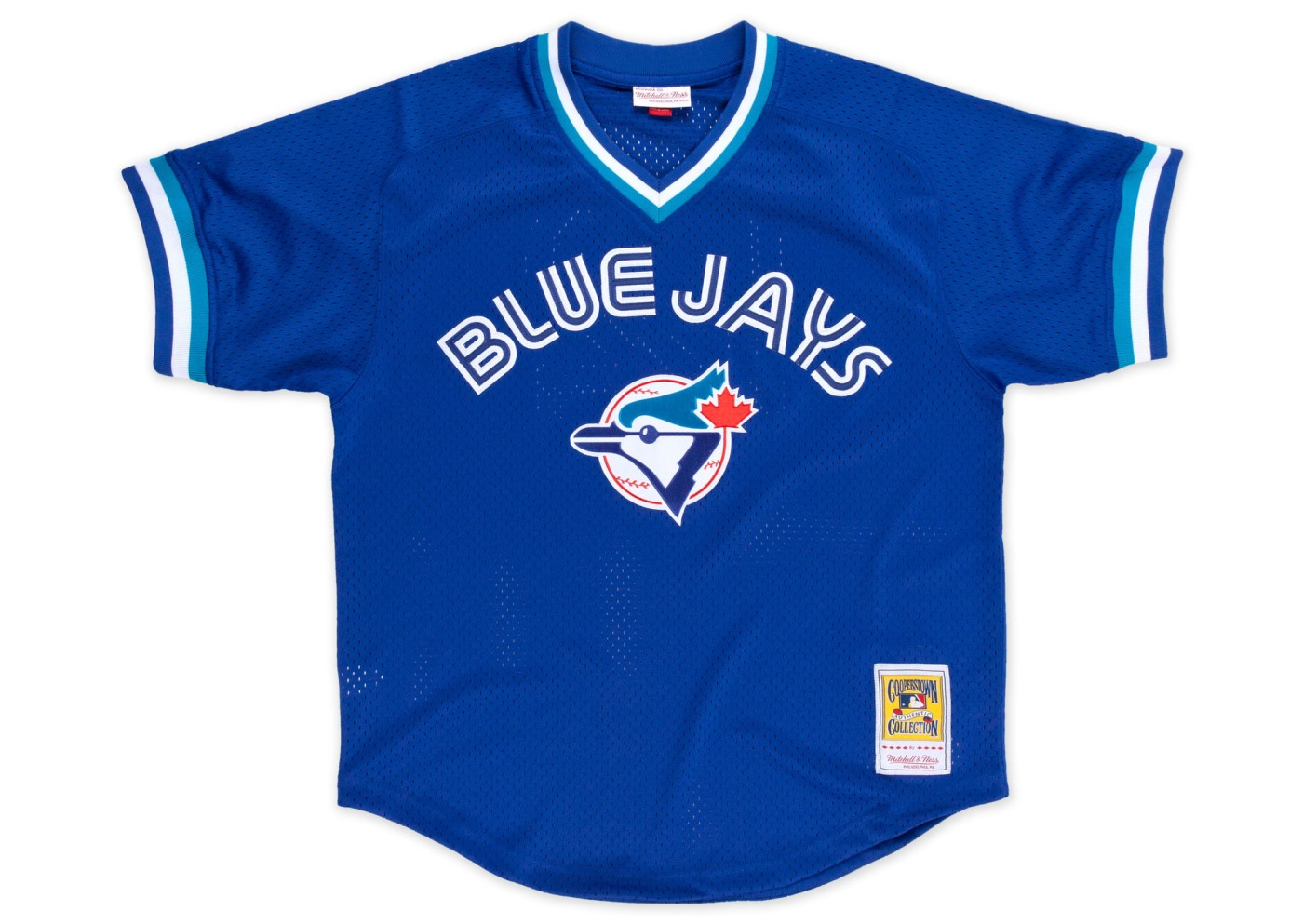 Joe Carter Toronto Blue Jays Mitchell & Ness Authentic 1993 BP Jersey