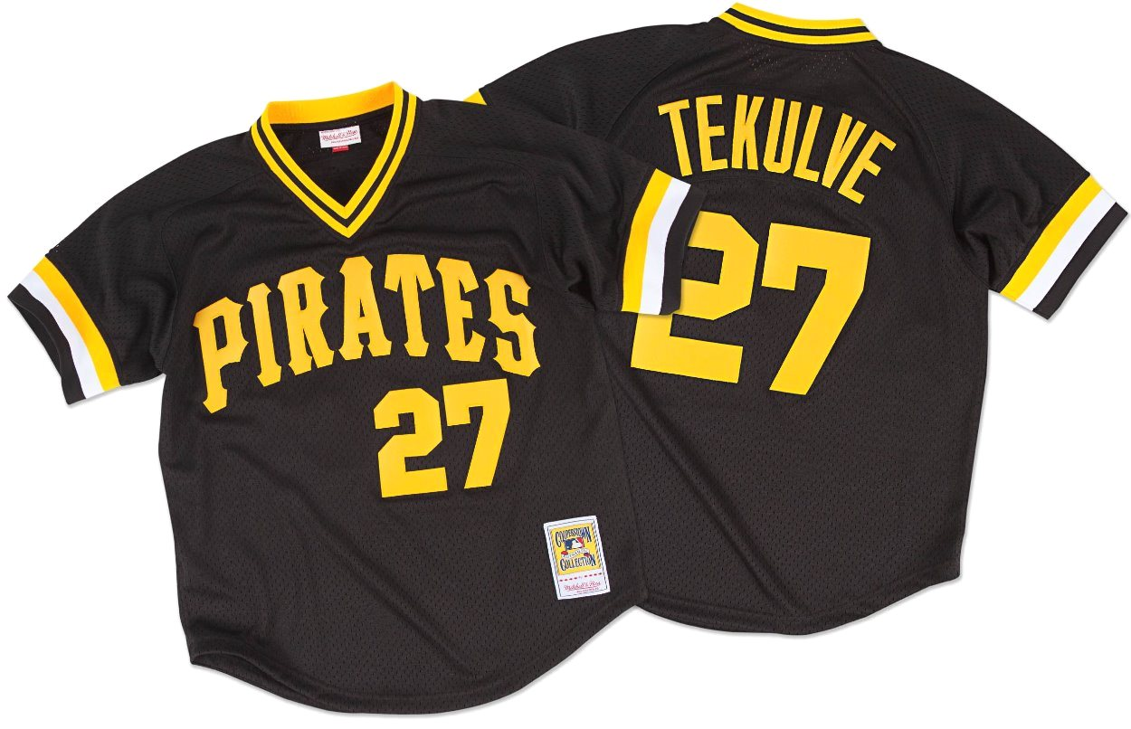 Kent Tekulve Pittsburgh Pirates MLB Mitchell & Ness Authentic 1982 BP Jersey