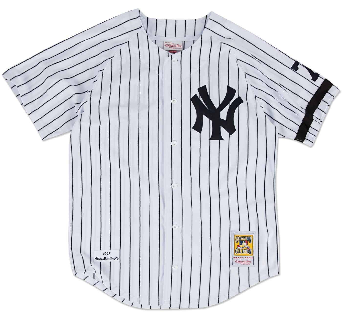 Don Mattingly New York Yankees Mitchell & Ness Authentic MLB 1995 Home Jersey