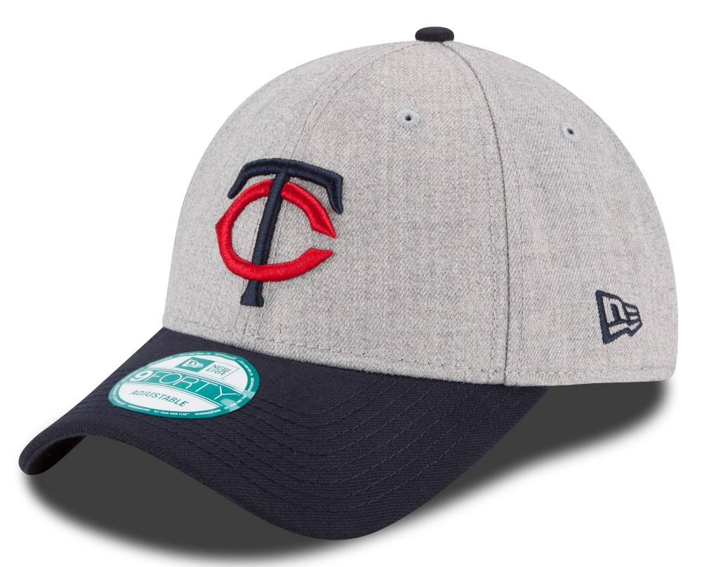 "Minnesota Twins New Era 9Forty MLB ""The League Heather"" Adjustable Hat"