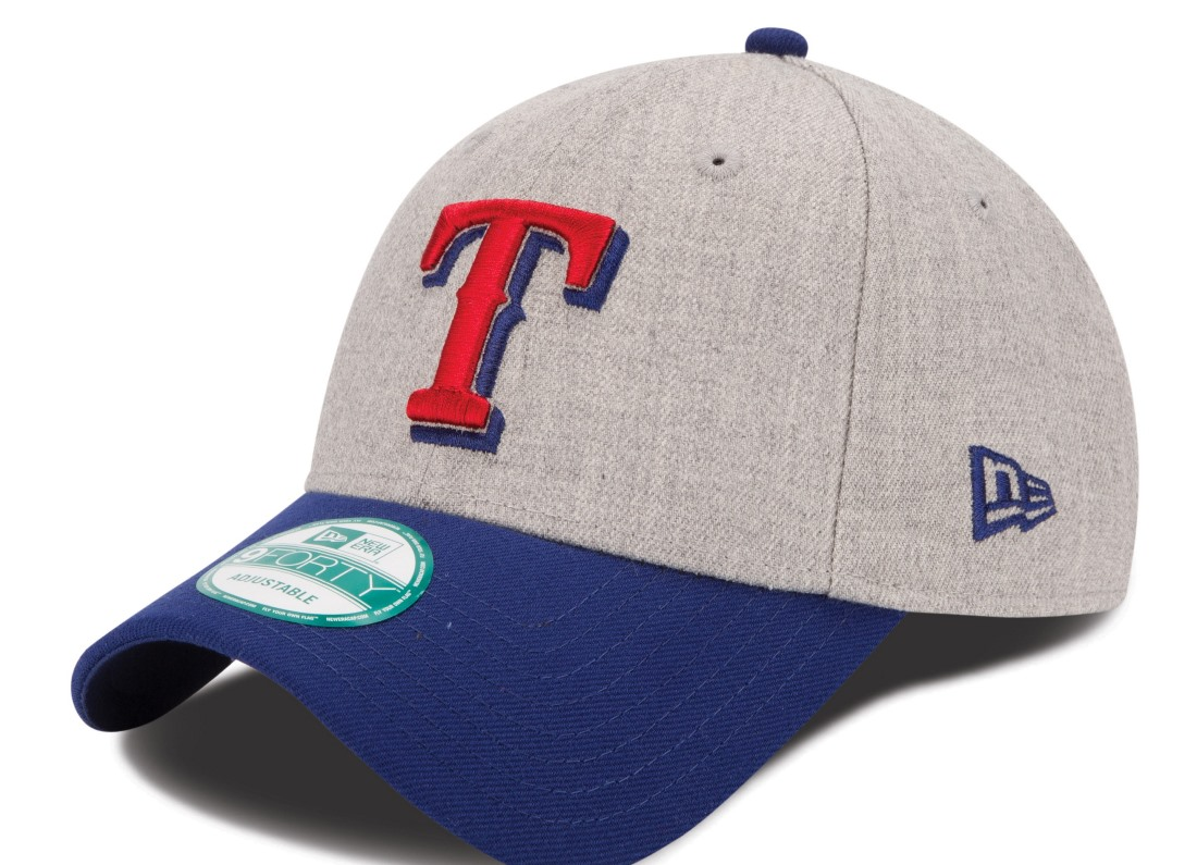 "Texas Rangers New Era 9Forty MLB ""The League Heather"" Adjustable Hat"