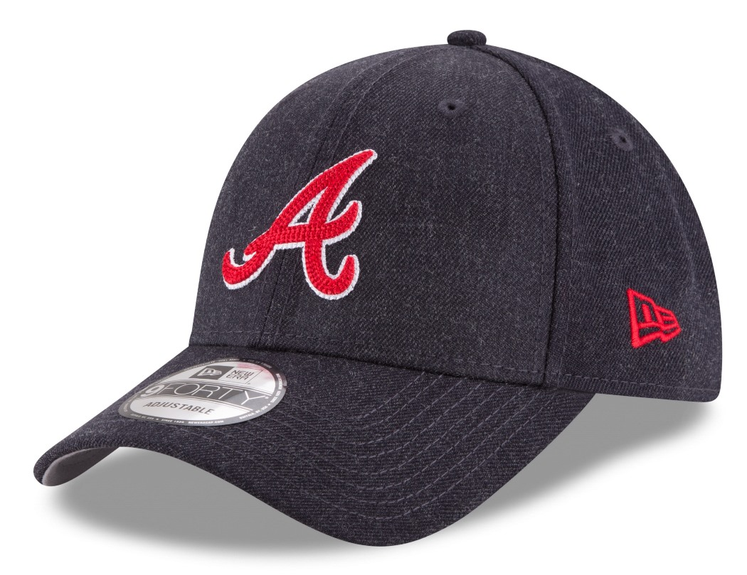 "Atlanta Braves New Era 9Forty MLB ""Heather Crisp"" Adjustable Hat"