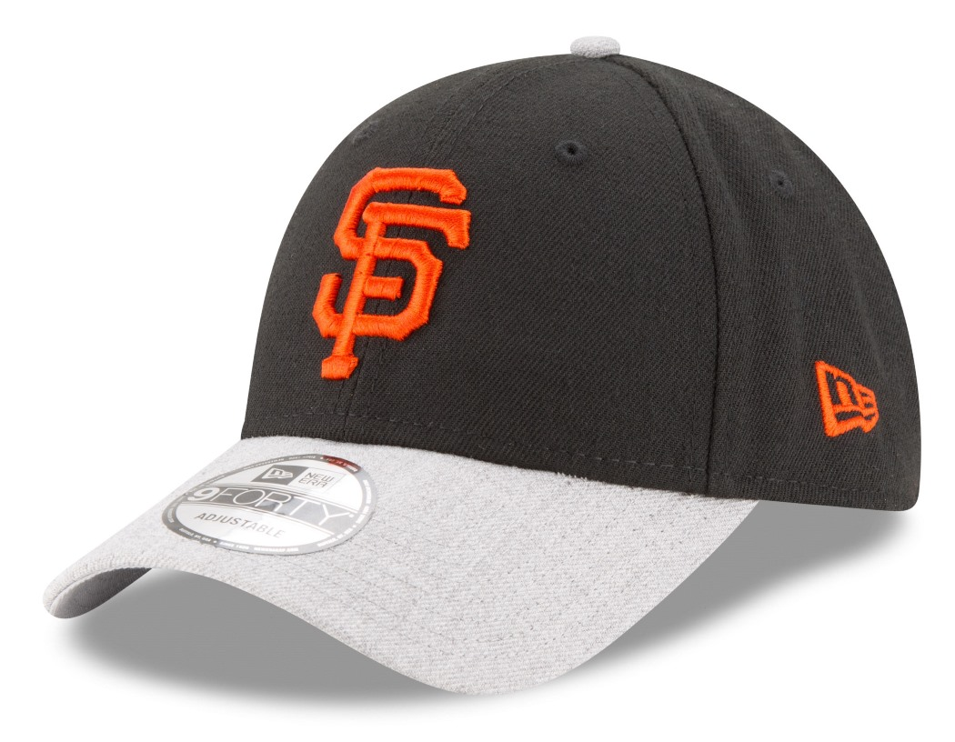 "San Francisco Giants New Era 9Forty MLB ""The League Heather 2"" Adjustable Hat"