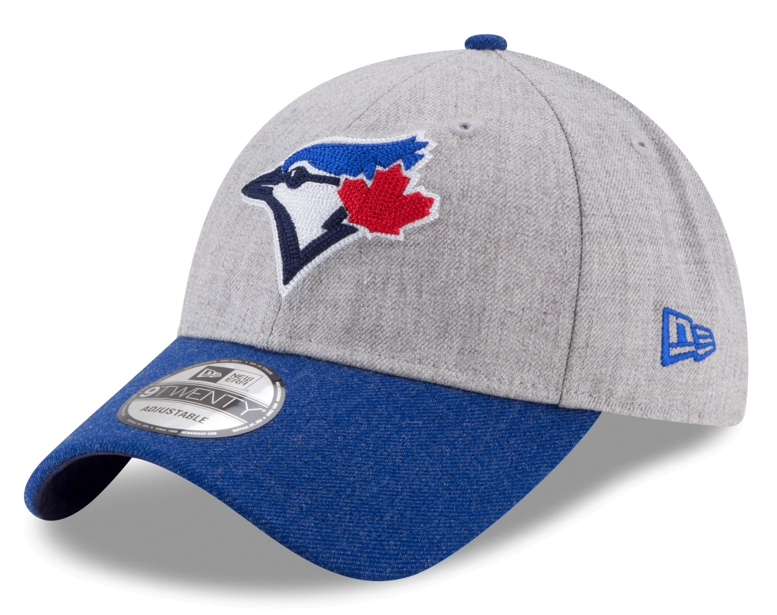 "Toronto Blue Jays New Era 9Forty MLB ""Heather Crisp 2"" Adjustable Hat"