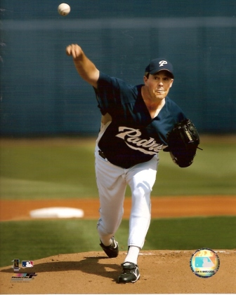 Greg Maddux Padres 8x10 Color Photo