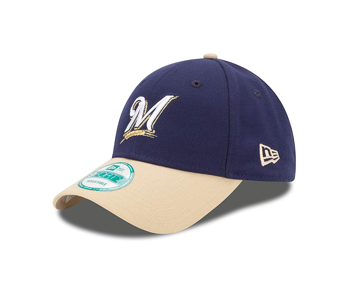 "Milwaukee Brewers New Era MLB 9Forty ""The League"" Adjustable Hat - 2 Tone"