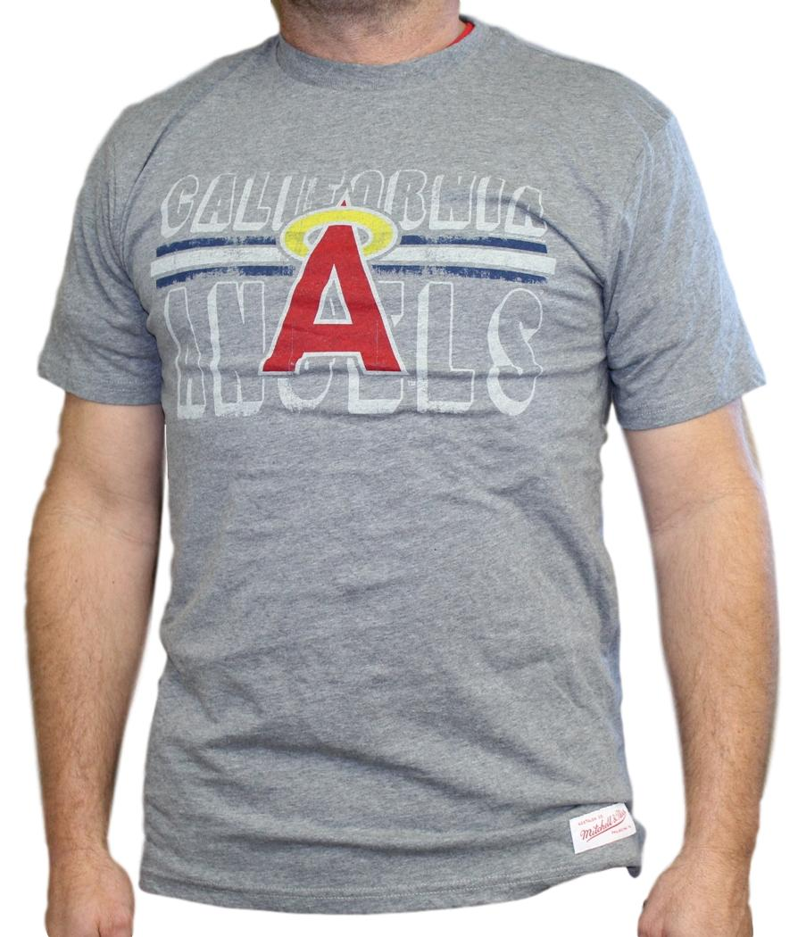"California Angels MLB Mitchell & Ness ""Innings"" Premium Men's T-Shirt - Medium"