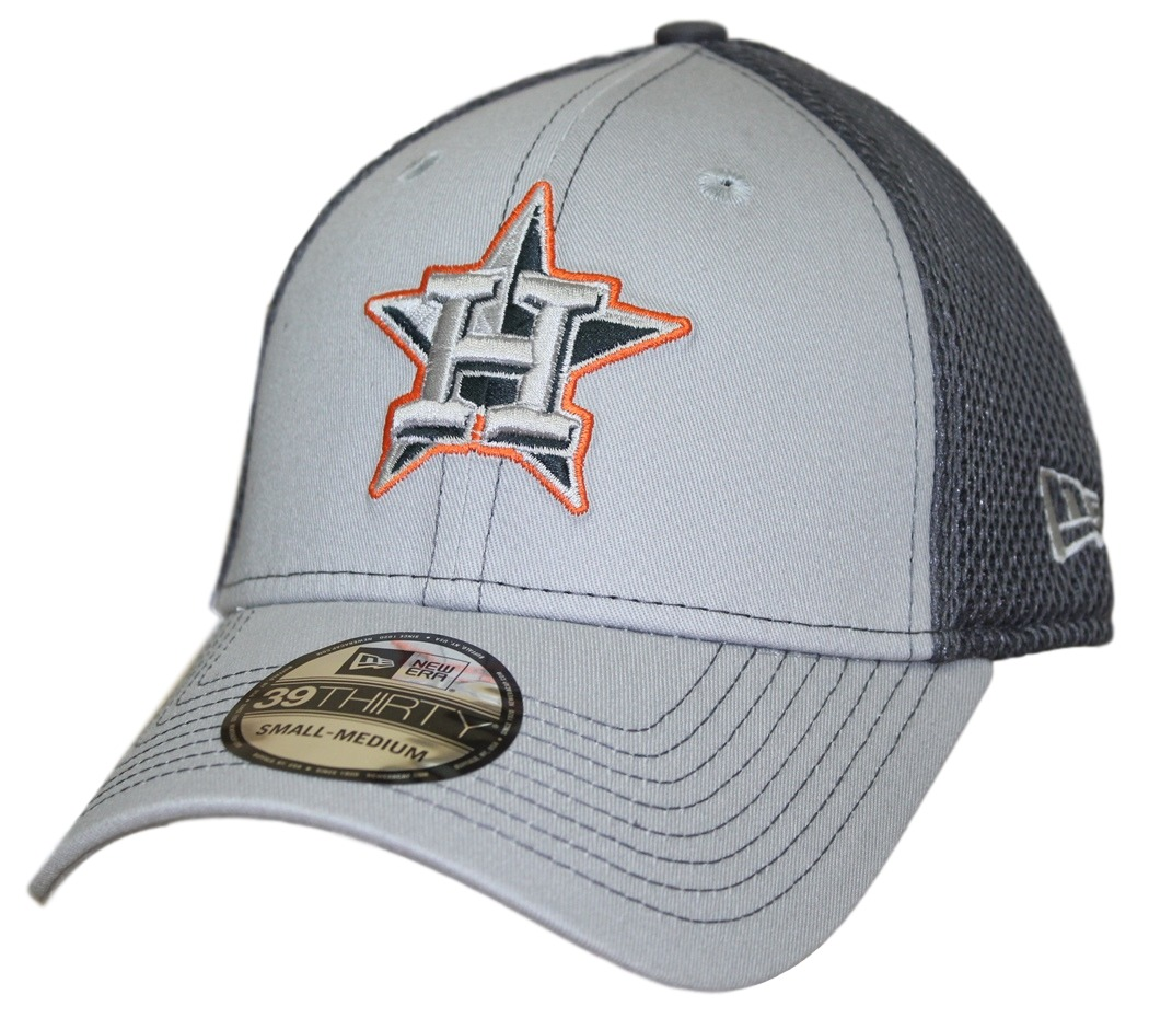 "Houston Astros New Era MLB 39THIRTY ""Grayed Out Neo 2"" Flex Fit Hat"