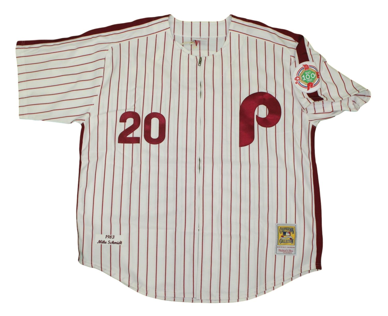 Mike Schmidt Philadelphia Phillies Mitchell & Ness MLB Authentic 1983 Jersey